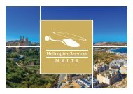 Helicopter Services Malta Brochure