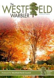 Westfield Warbler Autumn edition 2017