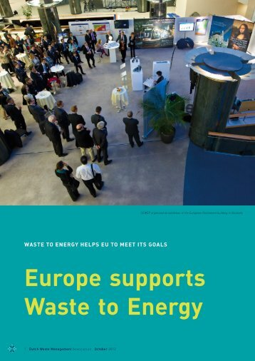 Europe supports Waste to Energy - Dutch Waste Management ...
