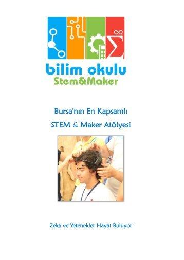 Bilim Okulu STEM&Maker Atölyesi Tanıtım Dosyası