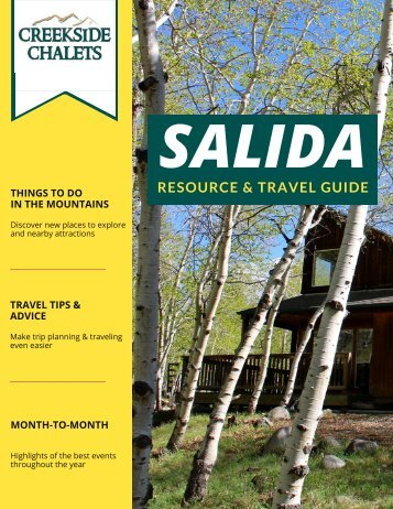 Salida Travel Guide 2017