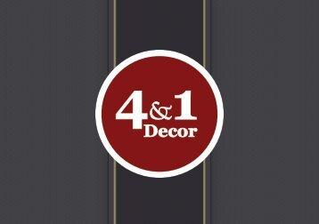 Catálogo - 4&1 Decor