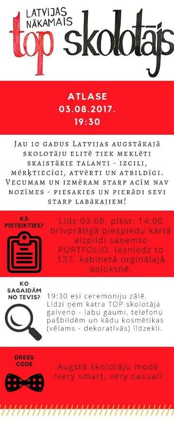 Latvijas nākamais TOP skolotājs