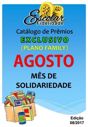 Catálogo Escolar Fidelidade (Plano Family) - Agosto 2017