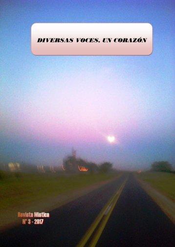 Diversas Voces, Un Corazón  - Revista N° 3