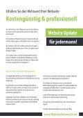Webseitenerstellung, Website Update und Suchmaschinenoptimierung von WebsiteDiscount24.de - Page 5