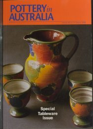 Pottery In Australia Vol 32 No 1 Autumn 1993