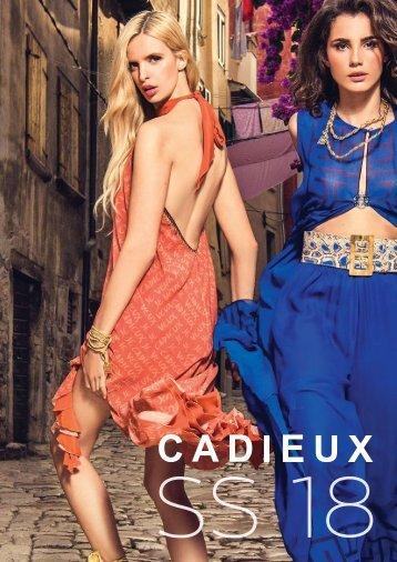 Cadieux Paris Catalog SS 18