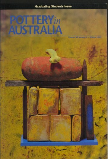 Pottery In Australia Vol 32 No 2 Winter 1993