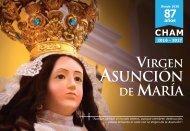 PROGRAMA 2017 - VIRGEN ASUNCIÓN DE MARÍA