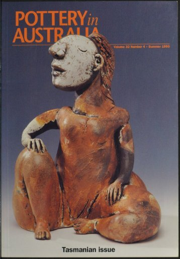 Pottery In Australia Vol 32 No 4 Winter 1993