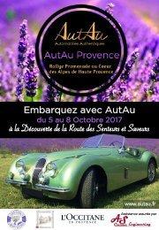 Bulletin d'inscription Route AutAu Provence octobre 2017