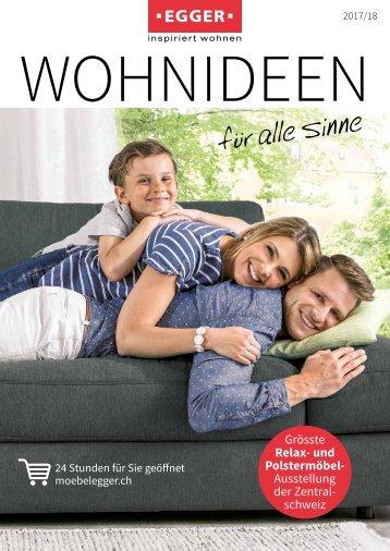 Katalog 2017/18 WOHNIDEEN - Möbel EGGER