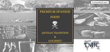 TMIC_Spanish Gourmet Products_Catalogue 2017_
