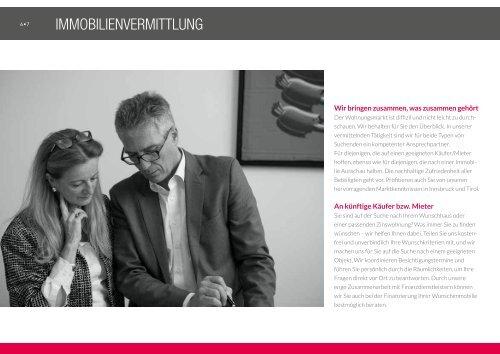 Werbebroschüre Immobilien Dr. Rhomberg & Partner KG_Juni 2017