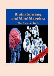 7 Brainstorming and Mind Mapping