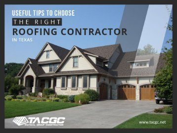 Tips to Choose the Right Roofing Contractor in Little Elm Texas