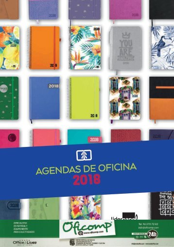 Catálogo de agendas de oficina Avata Office 2018