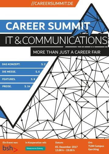 Career Summit IT & Communications 2017  - More than just a career fair