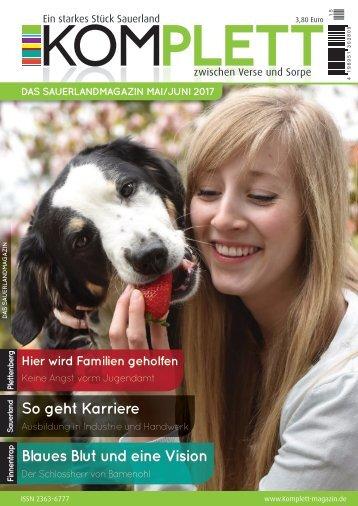 Komplett - DAS Sauerlandmagazin Ausgabe Mai/Juni 2017