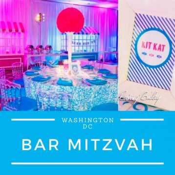 Bat and Bar Mitzvah Photography