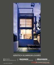 AEROTECH ALUMINIUM LOUVRES - Viva Sunscreens