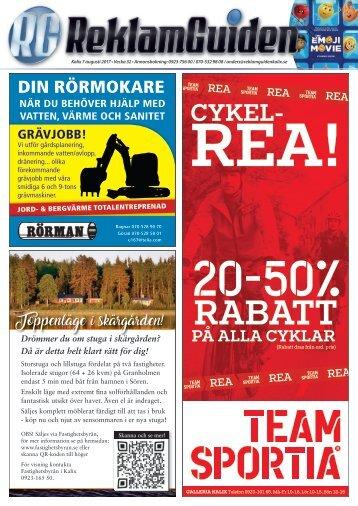 ReklamGuiden Kalix v32 -17 (7/8-13/8)