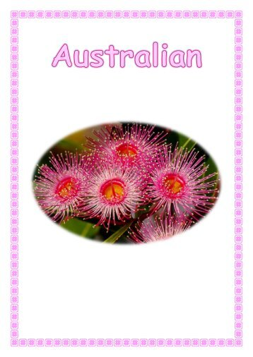 Australian Flora Flipbook