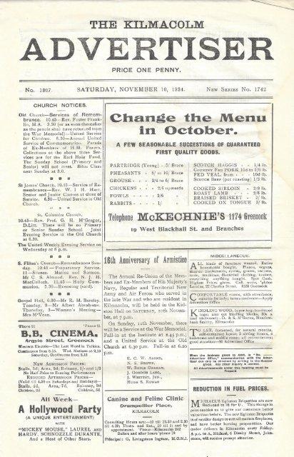 10 November 1934