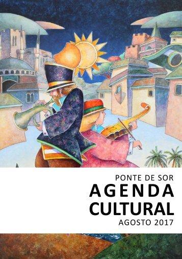 Agenda Cultural agosto 2017