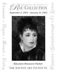 September 5, 2004 - January 16, 2005 • Degas • Monet • Sisley