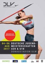 Programmheft DJM Ulm 2017