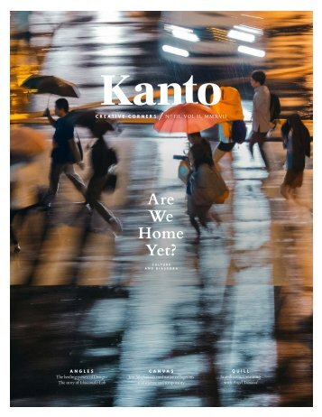 Kanto Journal 3 Volume 2 2017