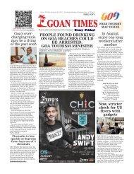 GoanTimes August, 4 2017