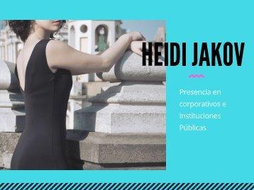 Heidi Jakov - presencia en corporativos