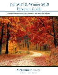 Program Guide Fall 2017-Winter 2018