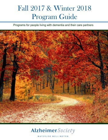 Program Guide Fall 2017-Winter 2018