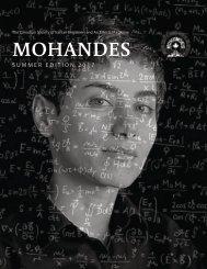 Mohandes Magazine: Summer Edition 2017