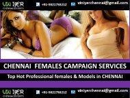 Hot Females Models Services Chennai- VINIYER