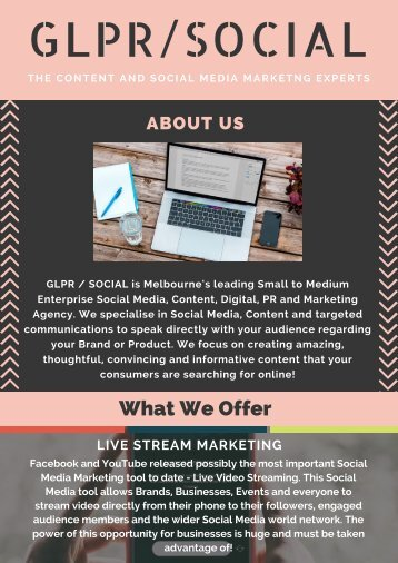 GLPR Social - Best Marketing Agency in Melbourne