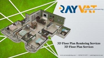 3D Floor Plan Rendering Services,3D Floor Plan Services