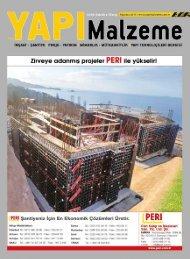 Yapı Malzeme Dergisi Ağustos 2017 Sayısı