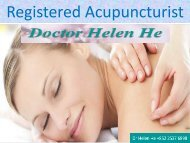 Acupuncture Hong Kong