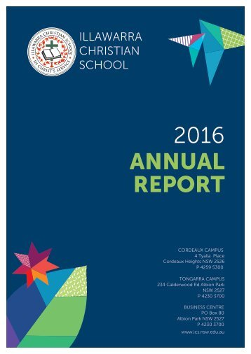 2016 ICS Annual Report