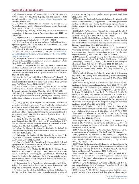 Journal of Medicinal Chem
