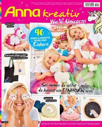 Anna kreativ AK 013 - We love Unicorns