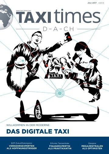 Taxi Times DACH - Juli 2017