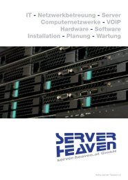 Broschuere Server-Heaven.at 2014-08 PRINT