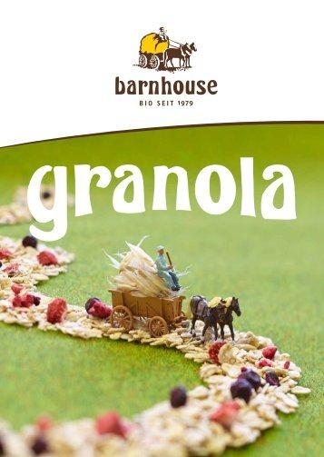Flyer Barnhouse Granola