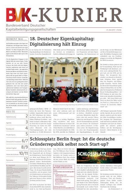 BVK-Kurier Ausgabe 01/2017